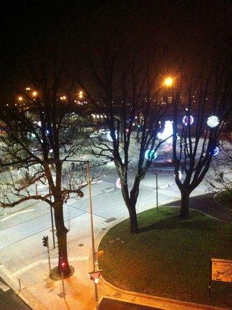 BEST WESTERN Hotel Piemontese: La piazza dalla mia camera