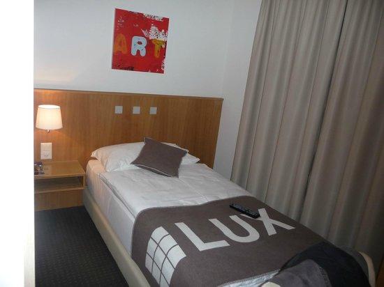 Hotel LUX: Das Eizelzimmer war von der Größe ausreichend