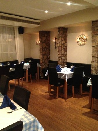 The Brasserie : Our evening setting