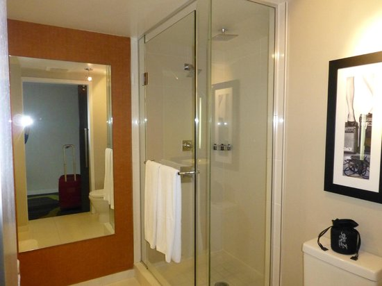 Hard Rock Hotel San Diego : Bathroom (room 806)