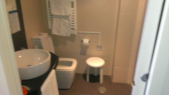 Hotel Brisa: the bathroom
