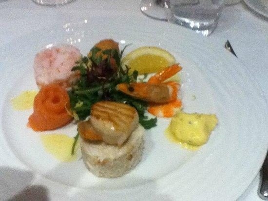 Seafood assiette - Starter - La Fregate Restaurant