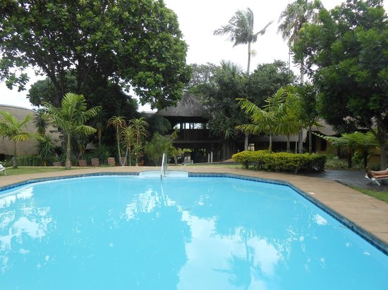 AmaZulu Lodge: View of the pool
