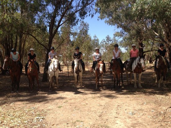Billabong Ranch: Day one trail ride