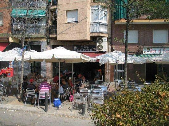 Bar Cesar: la terrazita
