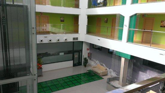 Hotel Ciudad de Corella : pasillos