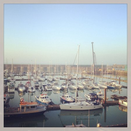 Malmaison Brighton : View from room 104