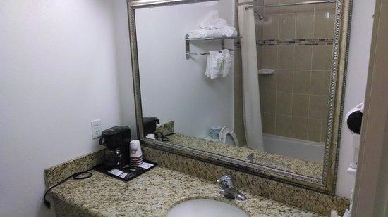 Days Inn & Suites Anaheim Resort : Sink 2
