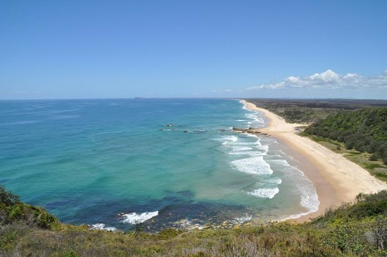 Camden Haven, Australia: Kylies Beach in the Crowdy Bay National; Park