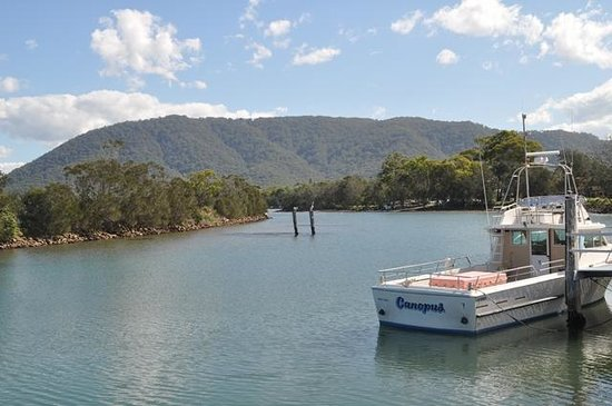 Camden Haven, Australia: North Brother Mountain from North Haven