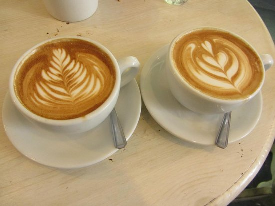 Papii: A detail of the coffees