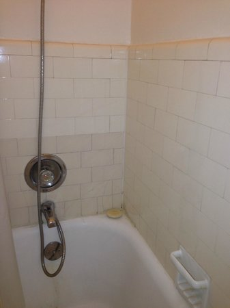 Hotel San Carlos: shower