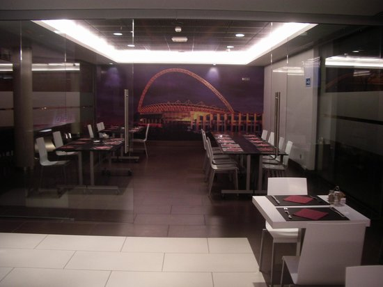 Hotel Tach Madrid Airport: The restaurant