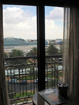 Peermont D'oreale Grande at Emperors Palace : view from the window