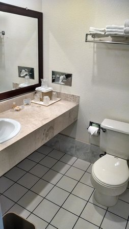 Days Inn & Suites Fountain Valley/Huntington Beach : Bathroom