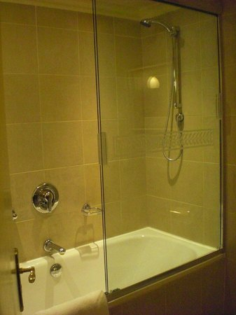 Peermont D'oreale Grande at Emperors Palace : shower & tub