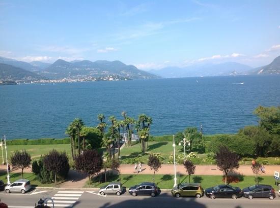 Grand Hotel Des Iles Borromees : the view