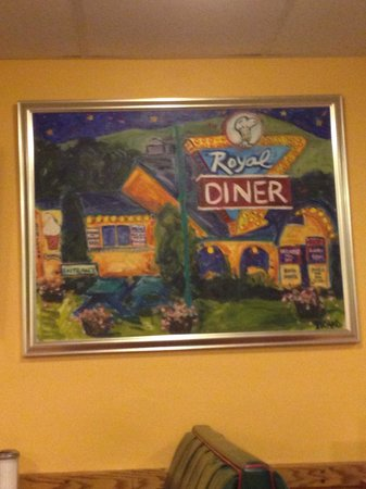 Chelsea Royal Diner: Everything is local, even the art!