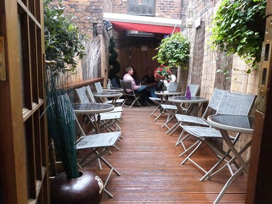 Bridge: Enjoy... our roof terrace