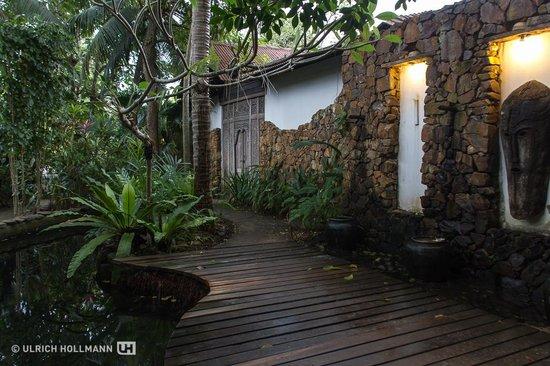 Sunset Beach Resort : The lovely garden