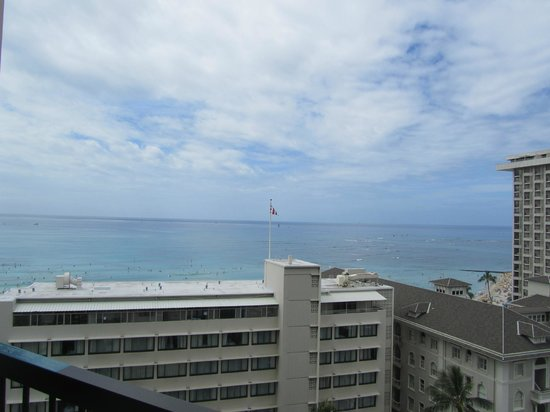 Hyatt Regency Waikiki Resort & Spa: View from room 1408