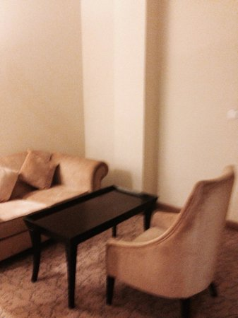 Rose View Hotel : Large comfy room