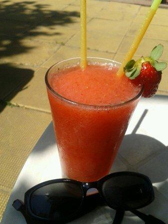 Ivana Palace Hotel: Strawberry daiquiri