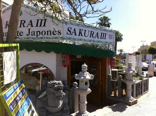Sakura III: Entrance