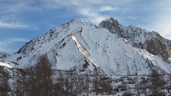Convict Lake Resort: View from our deck