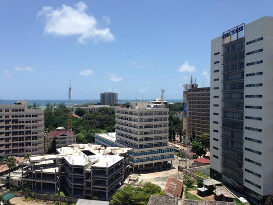 Holiday Inn Dar Es Salaam City Centre: View from the rooftop