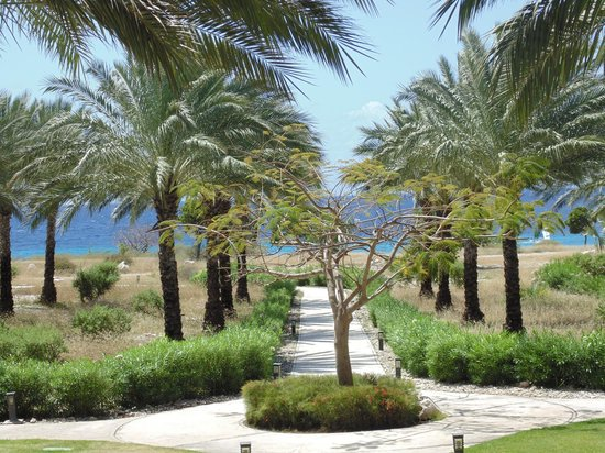 Santa Barbara Beach & Golf Resort, Curacao: Pretty walk ways through out the resort