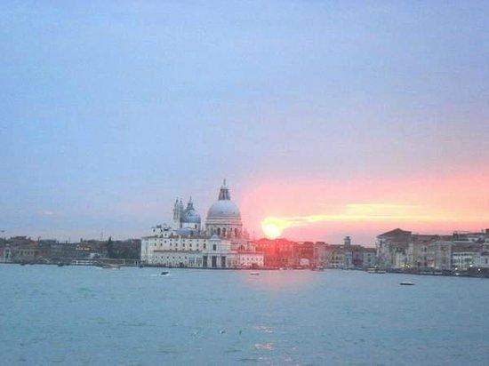 Arsenale di Venezia : Coucher de soleil