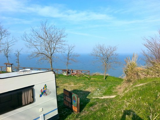 Parc naturel Monte San Bartolo : Sosta lungo la Panoramica