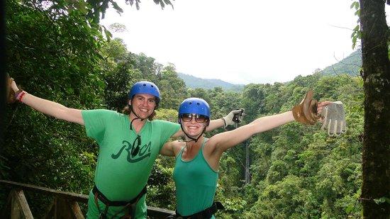 Paradise Adventures Costa Rica (PACR): Zip lining
