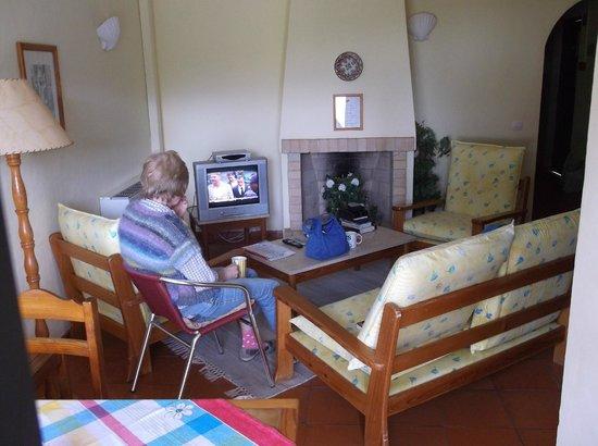 Quinta do Paraiso: Welcoming living room