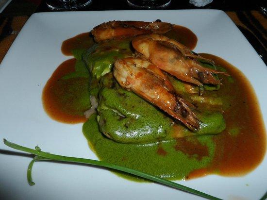 Restaurante Wanchako : Prato do jantar!!Quase não deu tempo de tirar a foto!!
