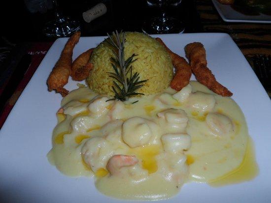 Restaurante Wanchako : Mais camarão...