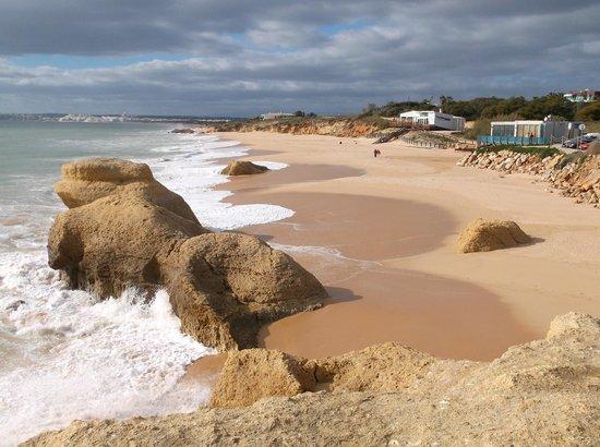 Quinta do Paraiso: the beach at Gale