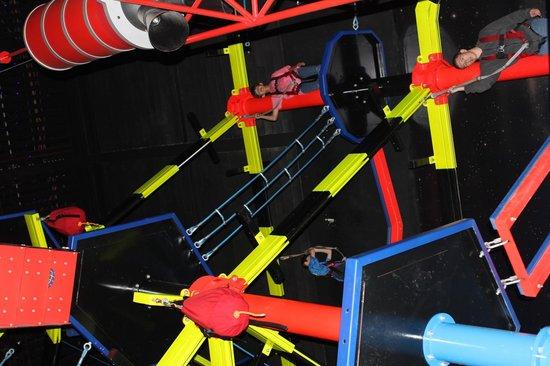 WonderWorks: ropes course