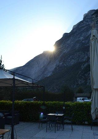 Ciclamino: Вид из отеля