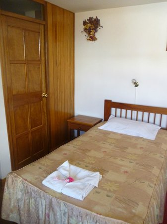 B&B-Hotel Pension Alemana : The room