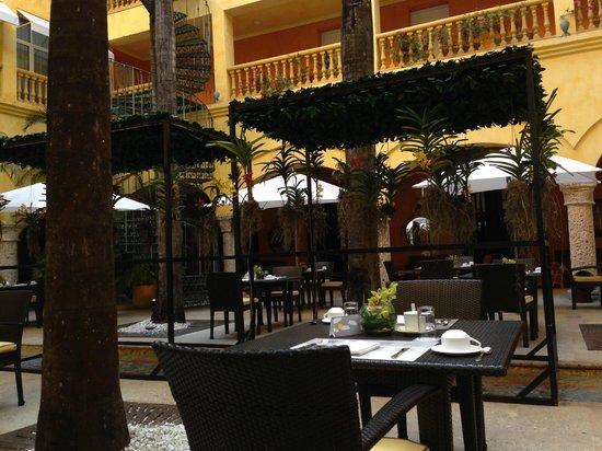 Charleston Cartagena Hotel Santa Teresa: Lobby e café da manhã