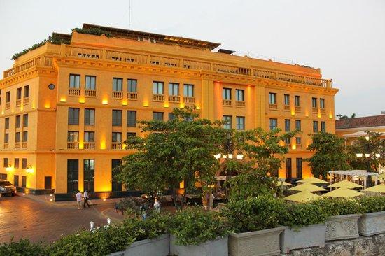 Charleston Cartagena Hotel Santa Teresa: Fachada