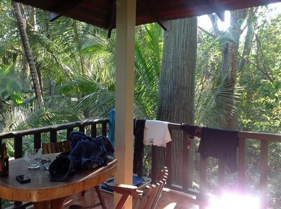 Harbor Reef Surf Resort: Private Balcony