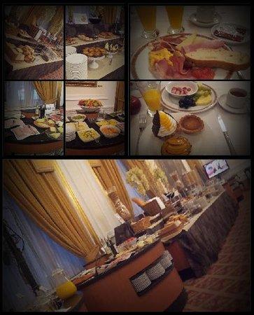 Hotel Carlton: Frühstücksbuffet