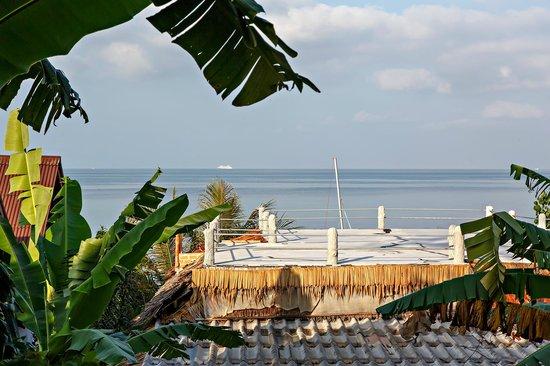 Shambhala Bungalow Village : Aussicht Seaview-Bungalow 9