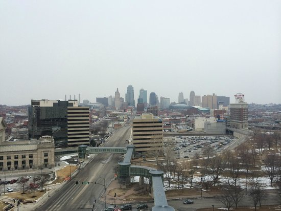The Westin Crown Center : views from the room