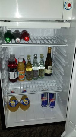 Artmore Hotel: Fridge (Fully Stocked)