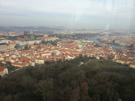 Petrin Tower (Rozhledna) : View from the top of the tower