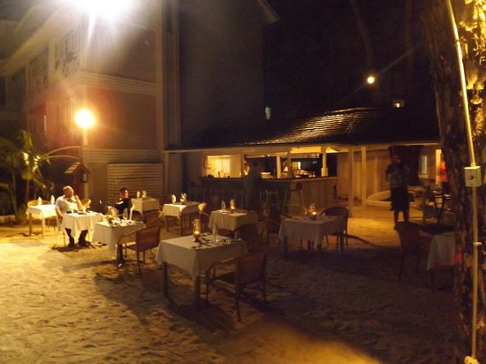 Dining Under The Stars Picture Of The Club Barbados Resort And Spa Saint